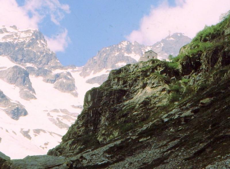 1984 Hautes-Alpes Montgenèvre Refuge des Bans