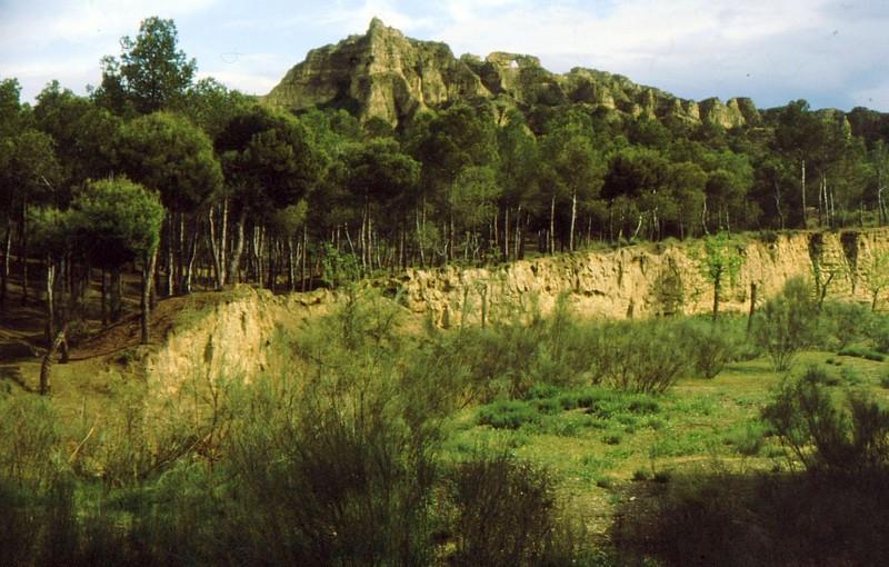 1984 Andalousie - Ramblas après Guadix